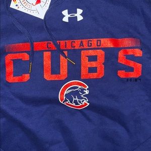 Under Armour Shirts - New Under Armour Chicago Cubs Hoodie Sweatshirt
